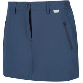 Regatta Highton Spódnica Kobiety, niebieski